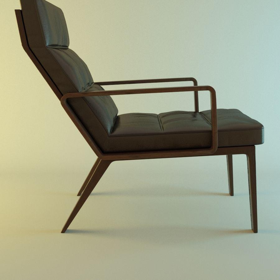 Кресло отдыха royalty-free 3d model - Preview no. 3