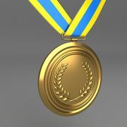 Medal 2 3d model