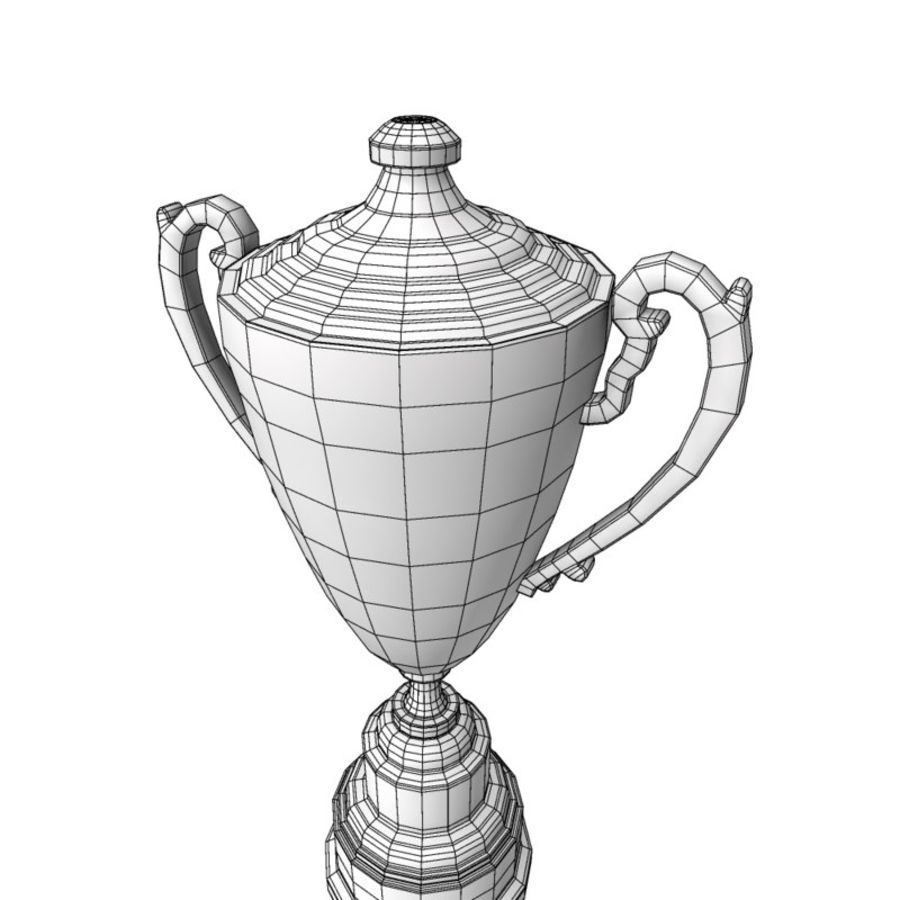 Awards Trophies 64 royalty-free 3d model - Preview no. 8