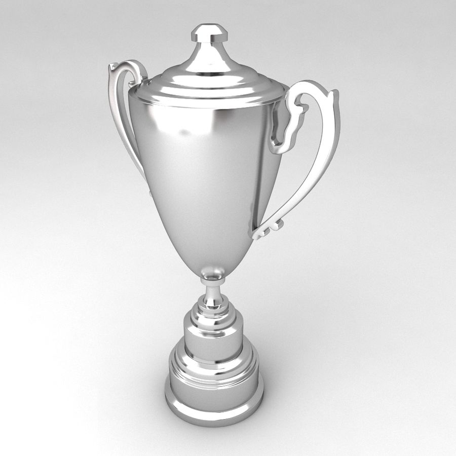 Awards Trophies 64 royalty-free 3d model - Preview no. 6