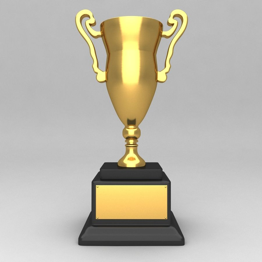 Awards Trophies 84 royalty-free 3d model - Preview no. 1