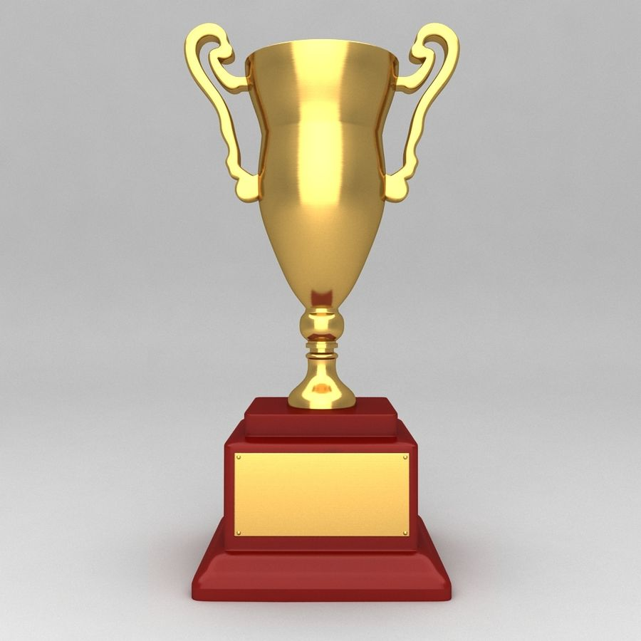 Awards Trophies 84 royalty-free 3d model - Preview no. 4