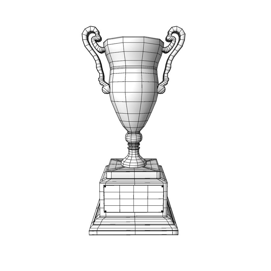 Awards Trophies 84 royalty-free 3d model - Preview no. 7