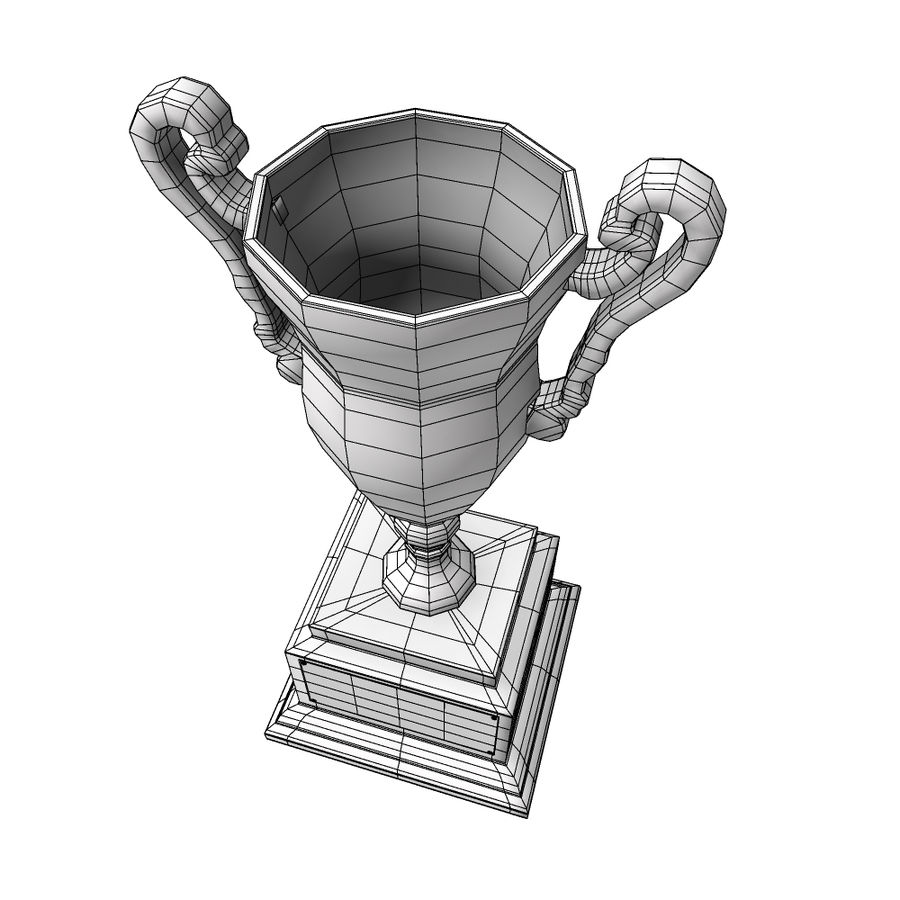 Awards Trophies 84 royalty-free 3d model - Preview no. 8