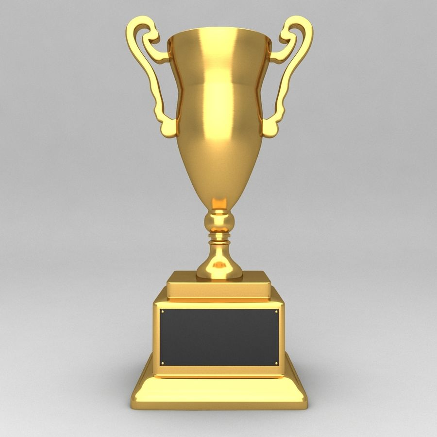 Awards Trophies 84 royalty-free 3d model - Preview no. 5