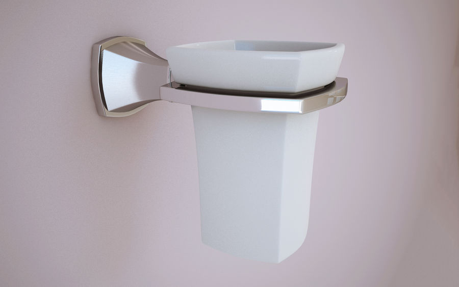 Banyo aksesuarları royalty-free 3d model - Preview no. 5