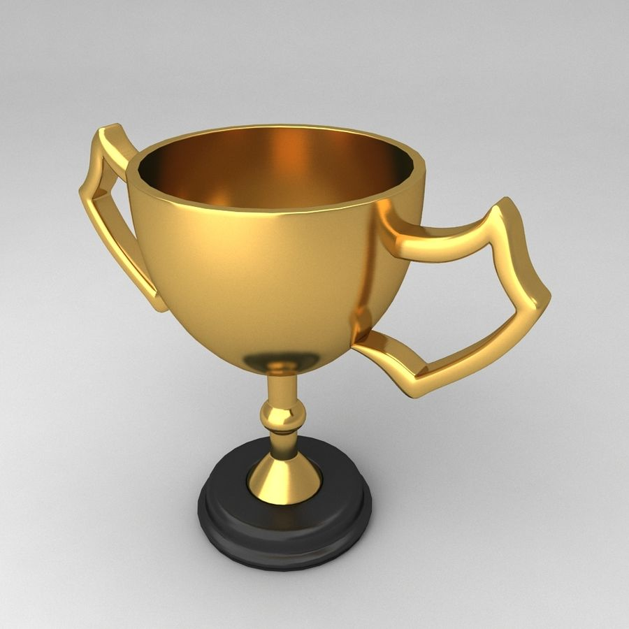 Awards Trophies 100 royalty-free 3d model - Preview no. 3