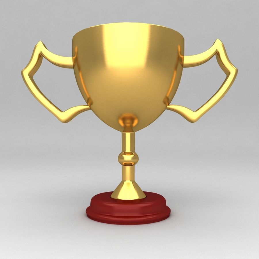 Awards Trophies 100 royalty-free 3d model - Preview no. 4