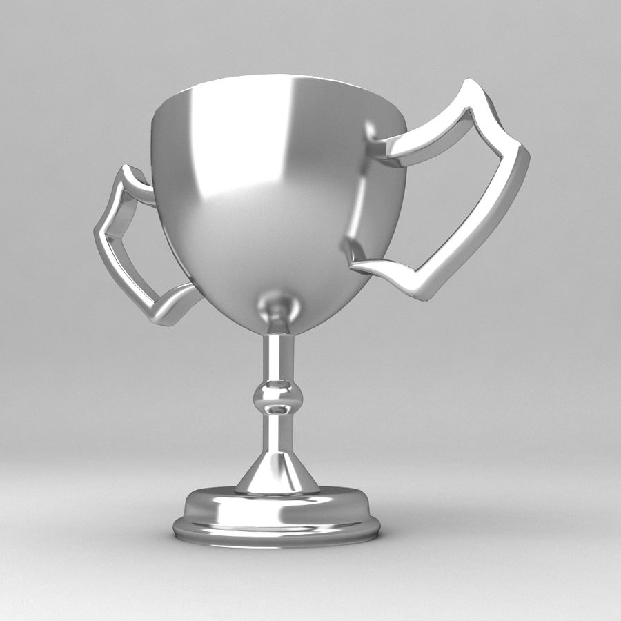 Awards Trophies 100 royalty-free 3d model - Preview no. 6