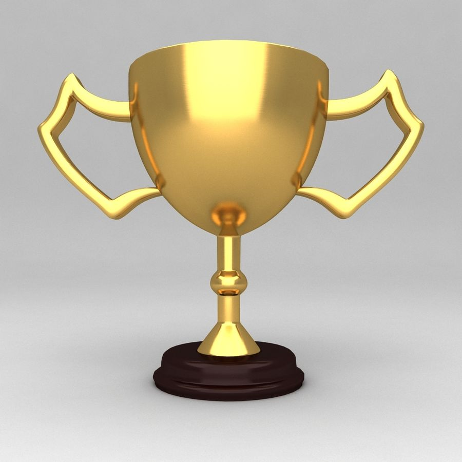 Awards Trophies 100 royalty-free 3d model - Preview no. 2