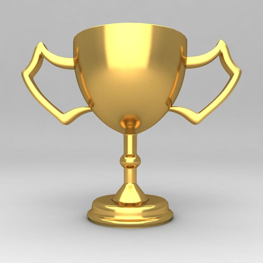 Awards Trophies 100 royalty-free 3d model - Preview no. 5
