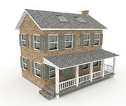 Old Farm House 3d model