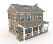 Antigua casa de labranza modelo 3d