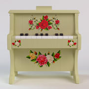 Piano_toy 3d model