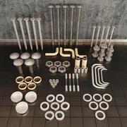 Детали инструментов 3d model