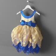 Feenhaftes Kleid 3d model