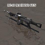 M240 Machinegeweer 3d model