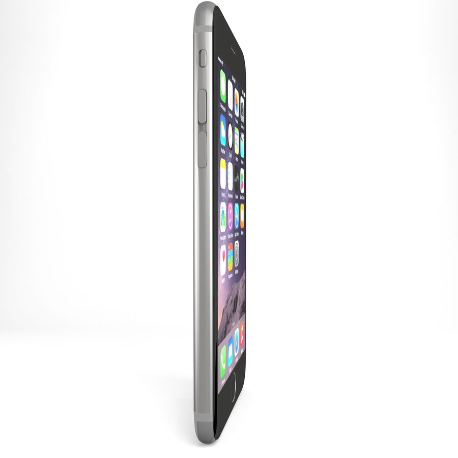 Iphone 6 royalty-free 3d model - Preview no. 2