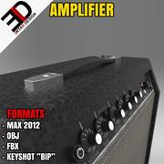 3D amplifier model 3d model