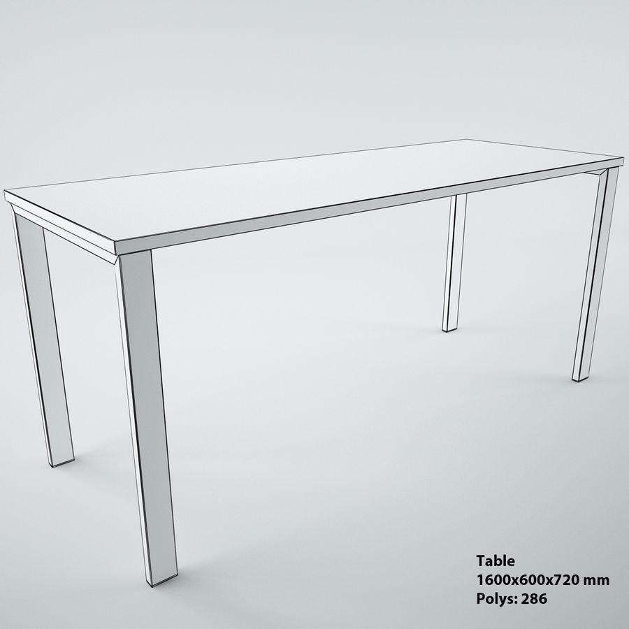 muebles de oficina royalty-free modelo 3d - Preview no. 28