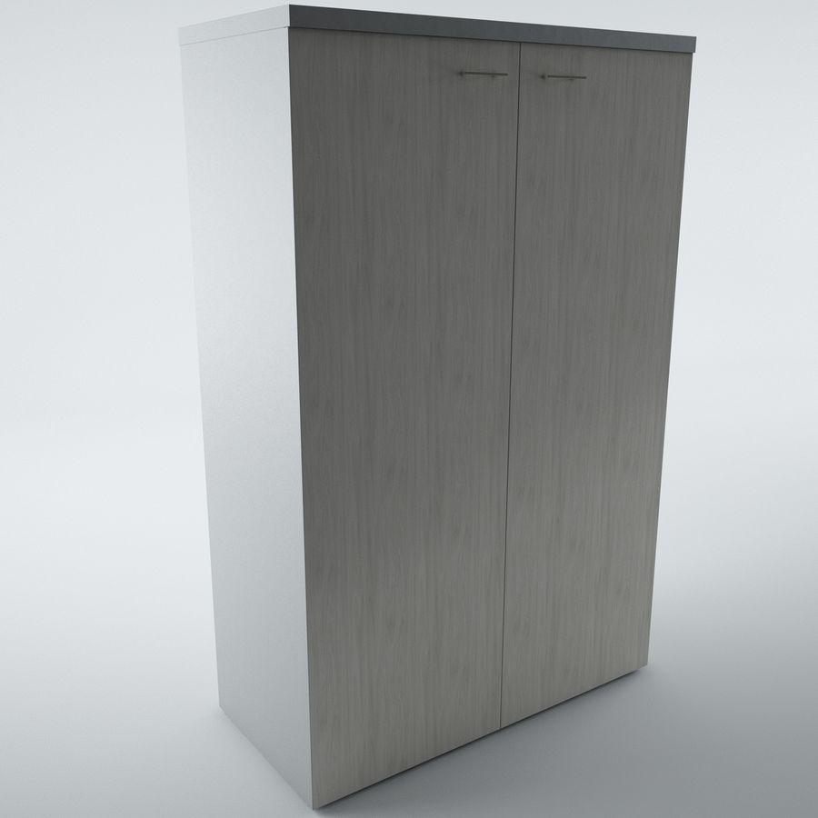 muebles de oficina royalty-free modelo 3d - Preview no. 5