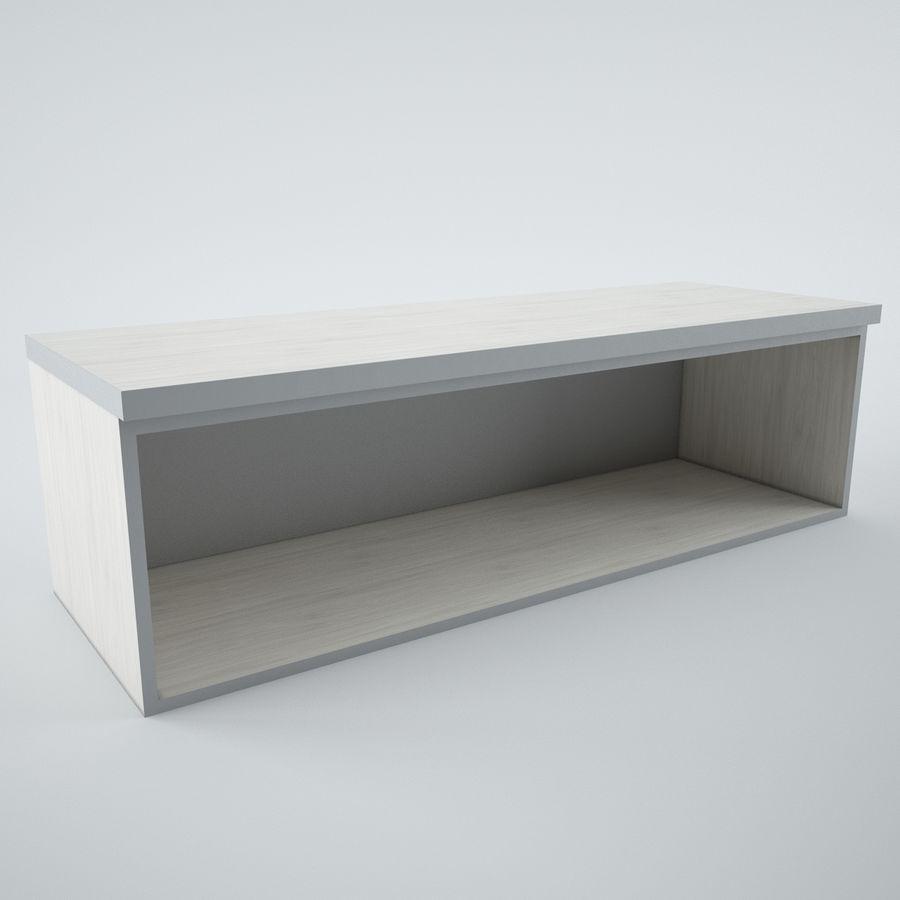 muebles de oficina royalty-free modelo 3d - Preview no. 11