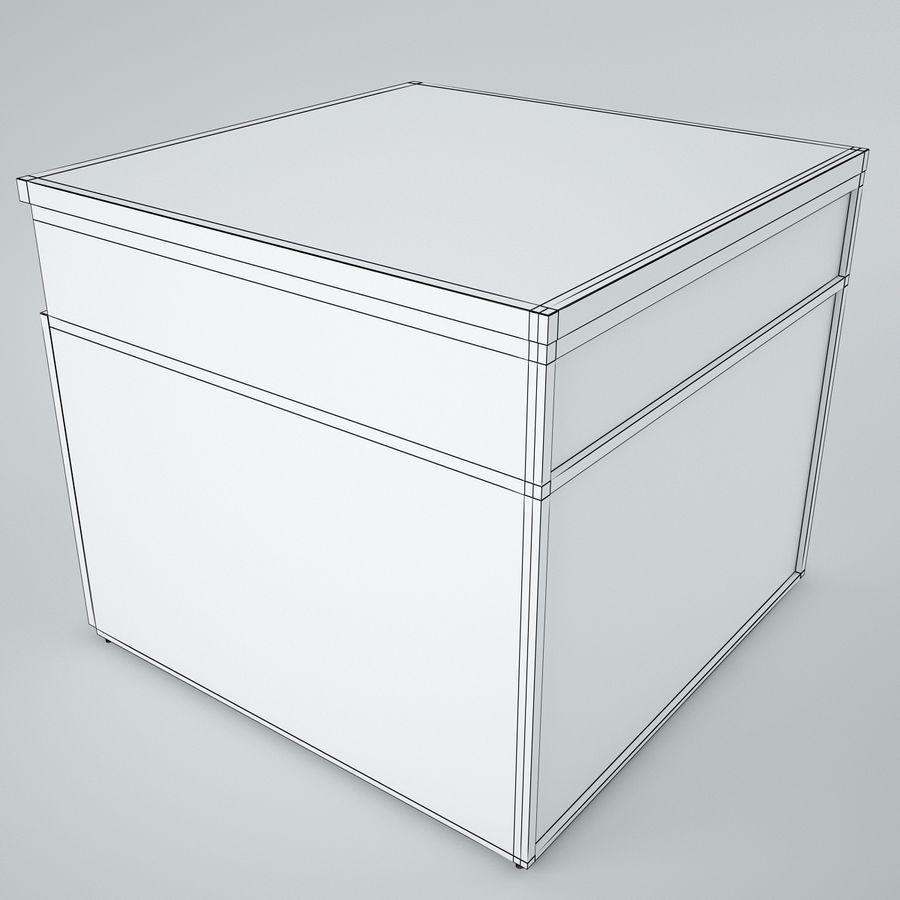 muebles de oficina royalty-free modelo 3d - Preview no. 19