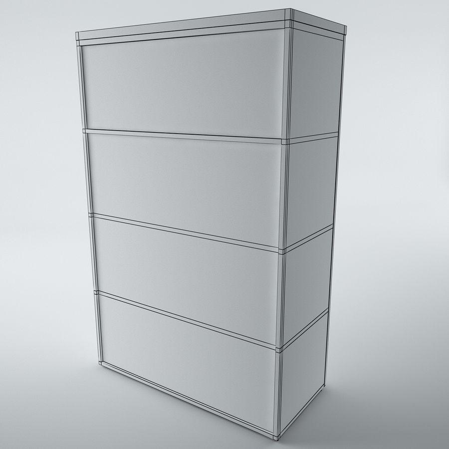 muebles de oficina royalty-free modelo 3d - Preview no. 21