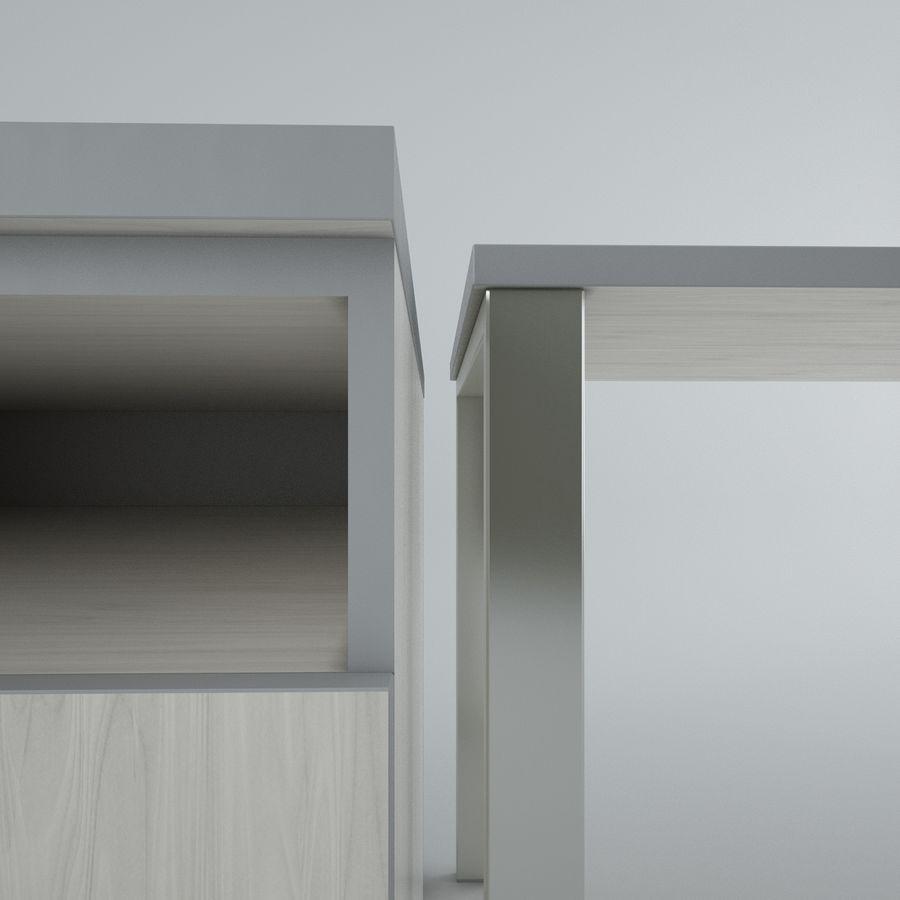 muebles de oficina royalty-free modelo 3d - Preview no. 15