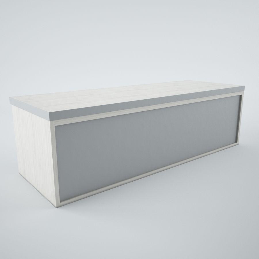 muebles de oficina royalty-free modelo 3d - Preview no. 12