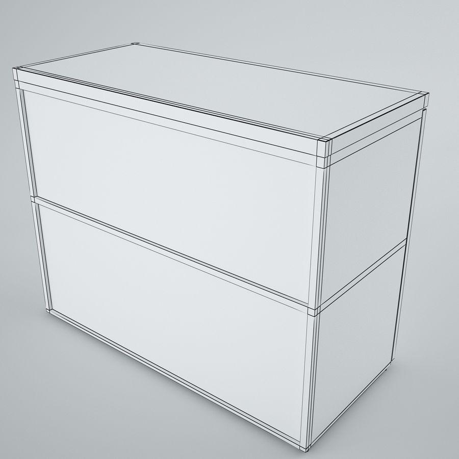 muebles de oficina royalty-free modelo 3d - Preview no. 25