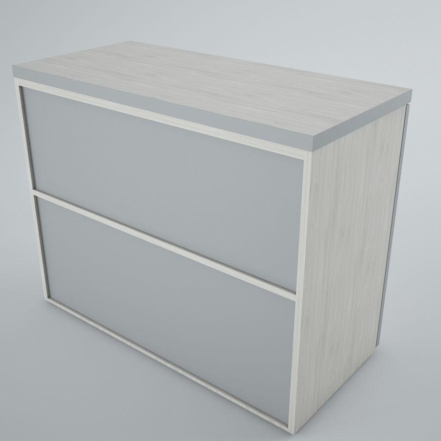 muebles de oficina royalty-free modelo 3d - Preview no. 10