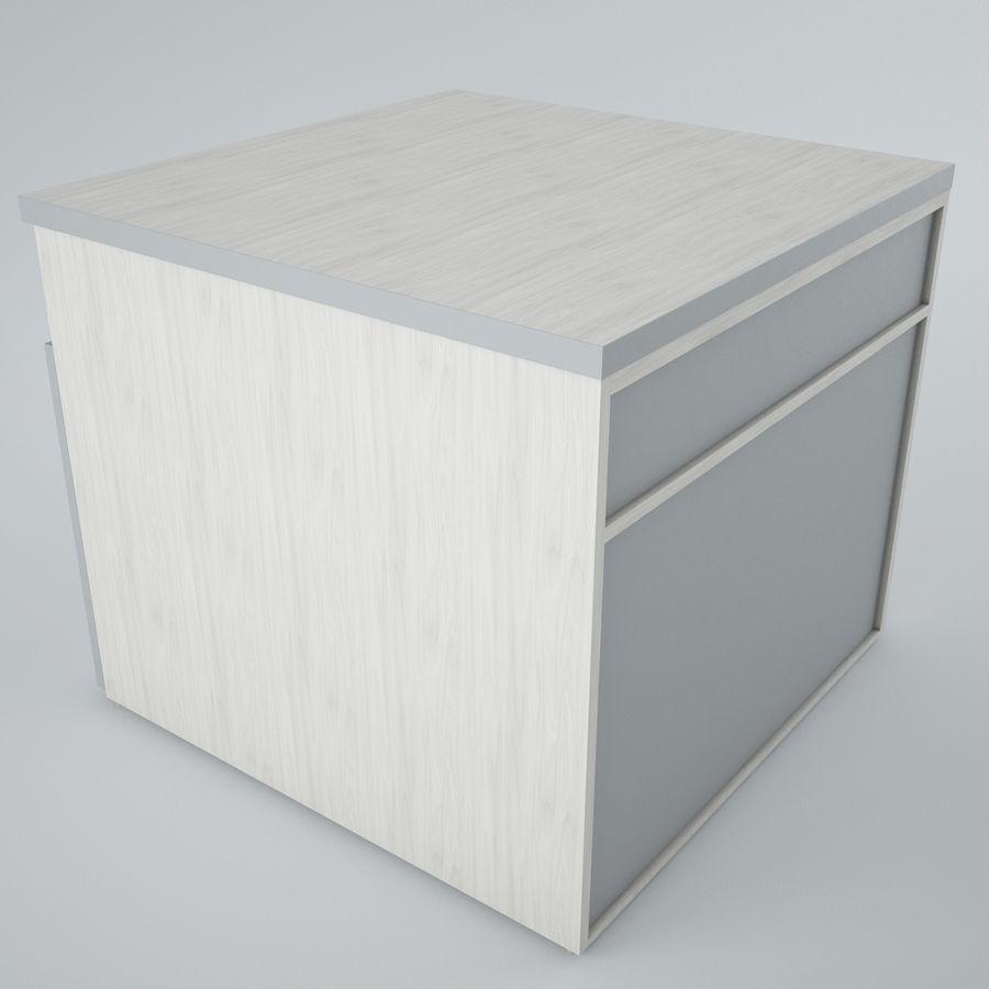 muebles de oficina royalty-free modelo 3d - Preview no. 4