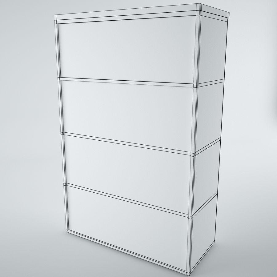 muebles de oficina royalty-free modelo 3d - Preview no. 23