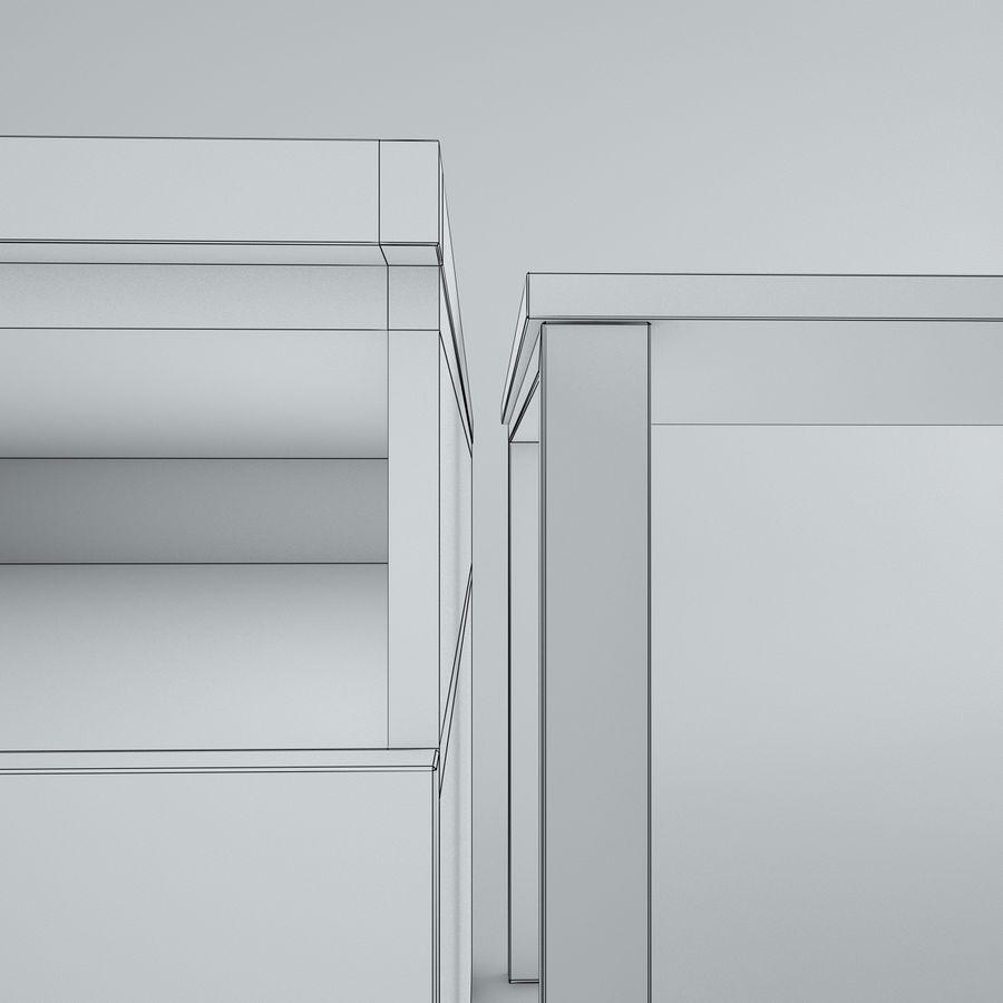 muebles de oficina royalty-free modelo 3d - Preview no. 29
