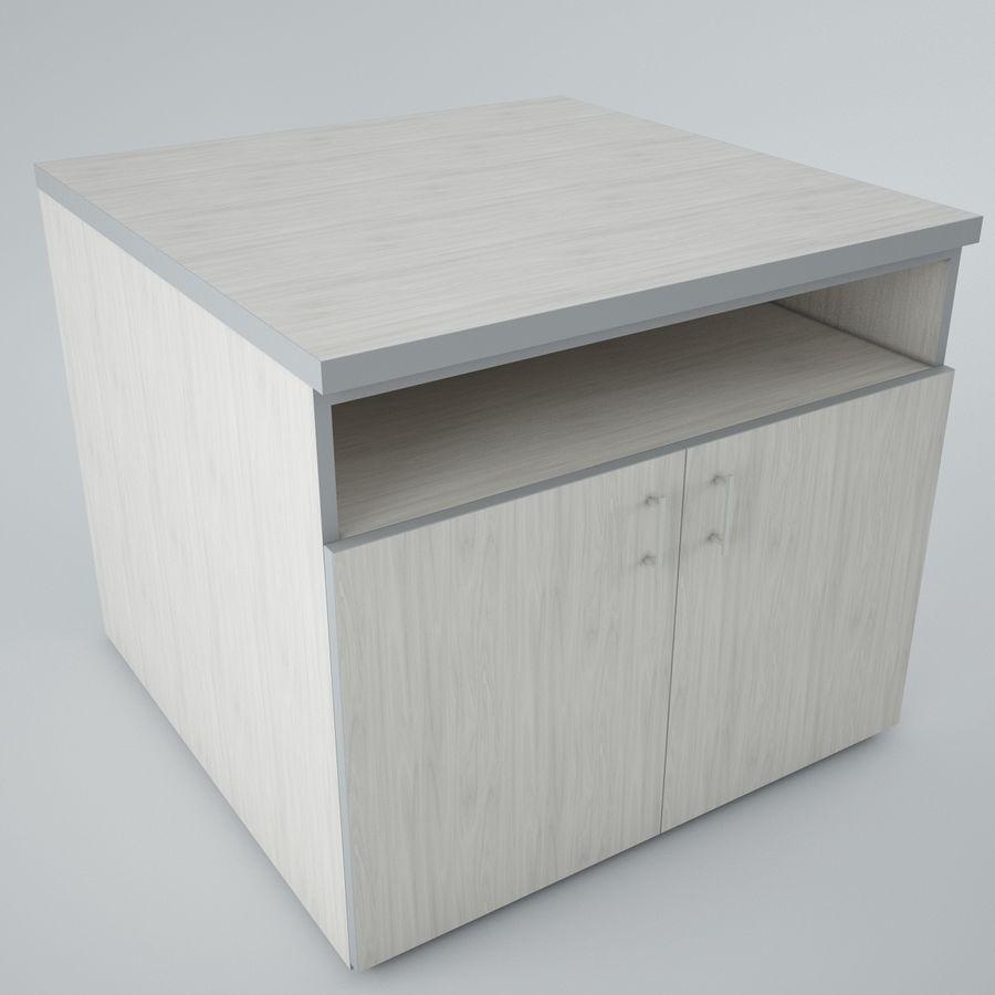 muebles de oficina royalty-free modelo 3d - Preview no. 3