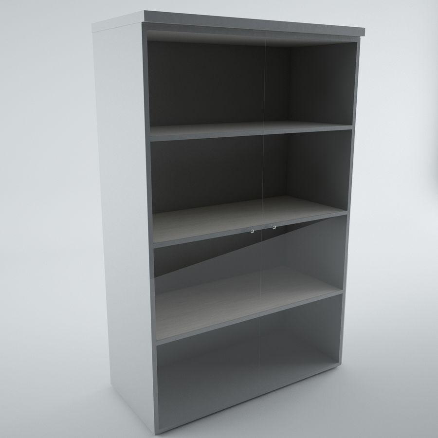 muebles de oficina royalty-free modelo 3d - Preview no. 7