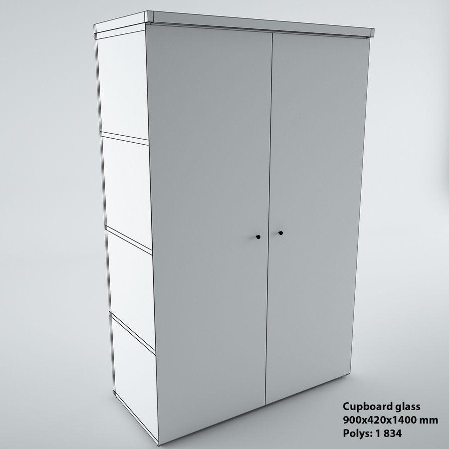 muebles de oficina royalty-free modelo 3d - Preview no. 22