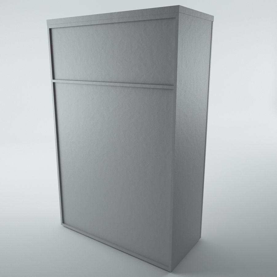 muebles de oficina royalty-free modelo 3d - Preview no. 6