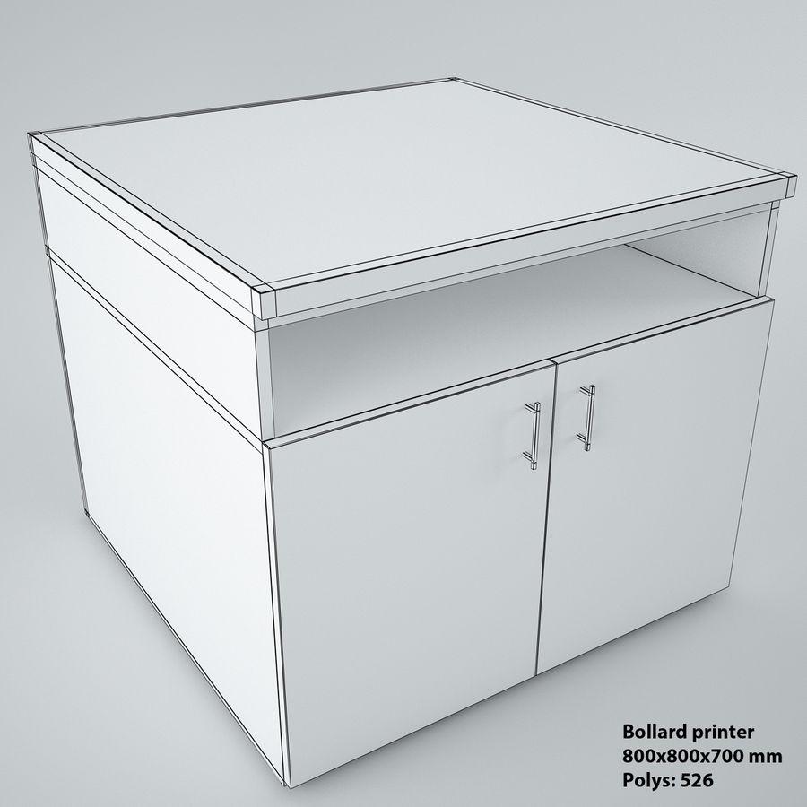 muebles de oficina royalty-free modelo 3d - Preview no. 18