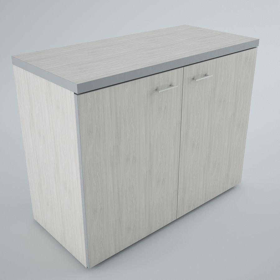 muebles de oficina royalty-free modelo 3d - Preview no. 9