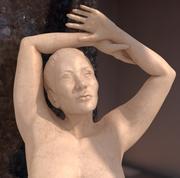 Female Marble Statue 3d model