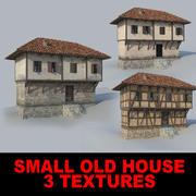 Antigua casa pequeña modelo 3d