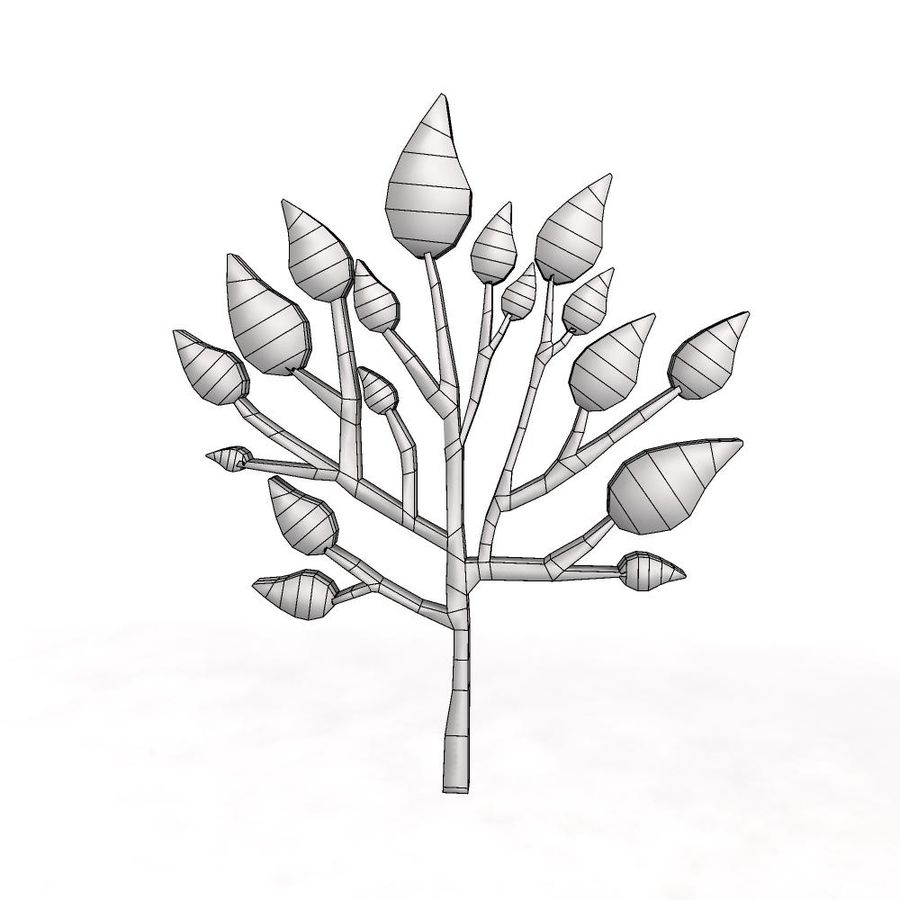 Cartoon Tree 1 3d Model 10 Obj Fbx Max Free3d Popular items for no leaf tree drawing. free 3d