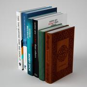 Livres 6 photos 3d model