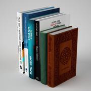 Books 6 pics 3d model