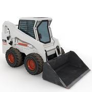 skid steer mini loader 3d model