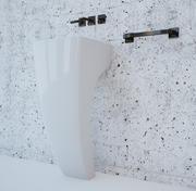 Badezimmer Waschbecken 3d model