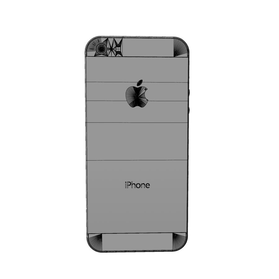 Apple iphone 5s royalty-free 3d model - Preview no. 9