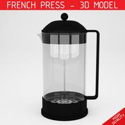 法国新闻-咖啡新闻 3d model